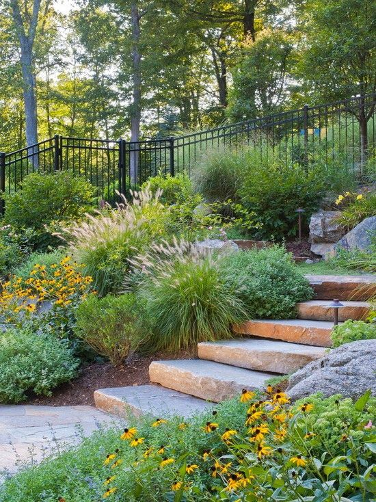 Cool Fence Ideas For Backyard modern wood fence panels modern wood fence panels home improvement ideas backyard Fresh Mediterranean Patio In Incredible Backyard Simple Staircase Design With Cool Fence Ideas Combined Reed