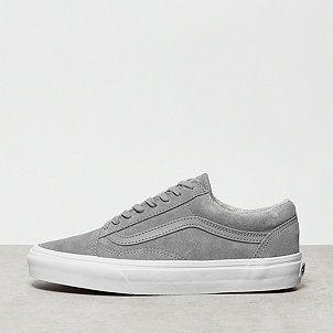 Vans Old Skool Suede Woven Gray True White Tenis Sem Cadarco Sapatos Fashion