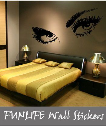 adult women bedroom wall decals and decor | ... wall quote ...