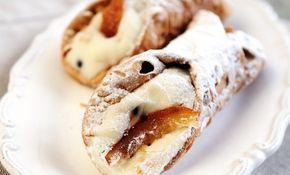 I cannoli siciliani al forno