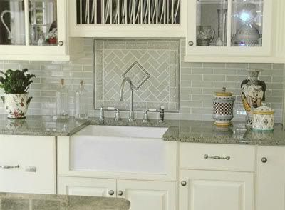 Sink with no window above pictures please kitchens for Kitchen ideas no window