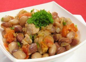 Свинина с фасолью и помидорами (с изображениями ...