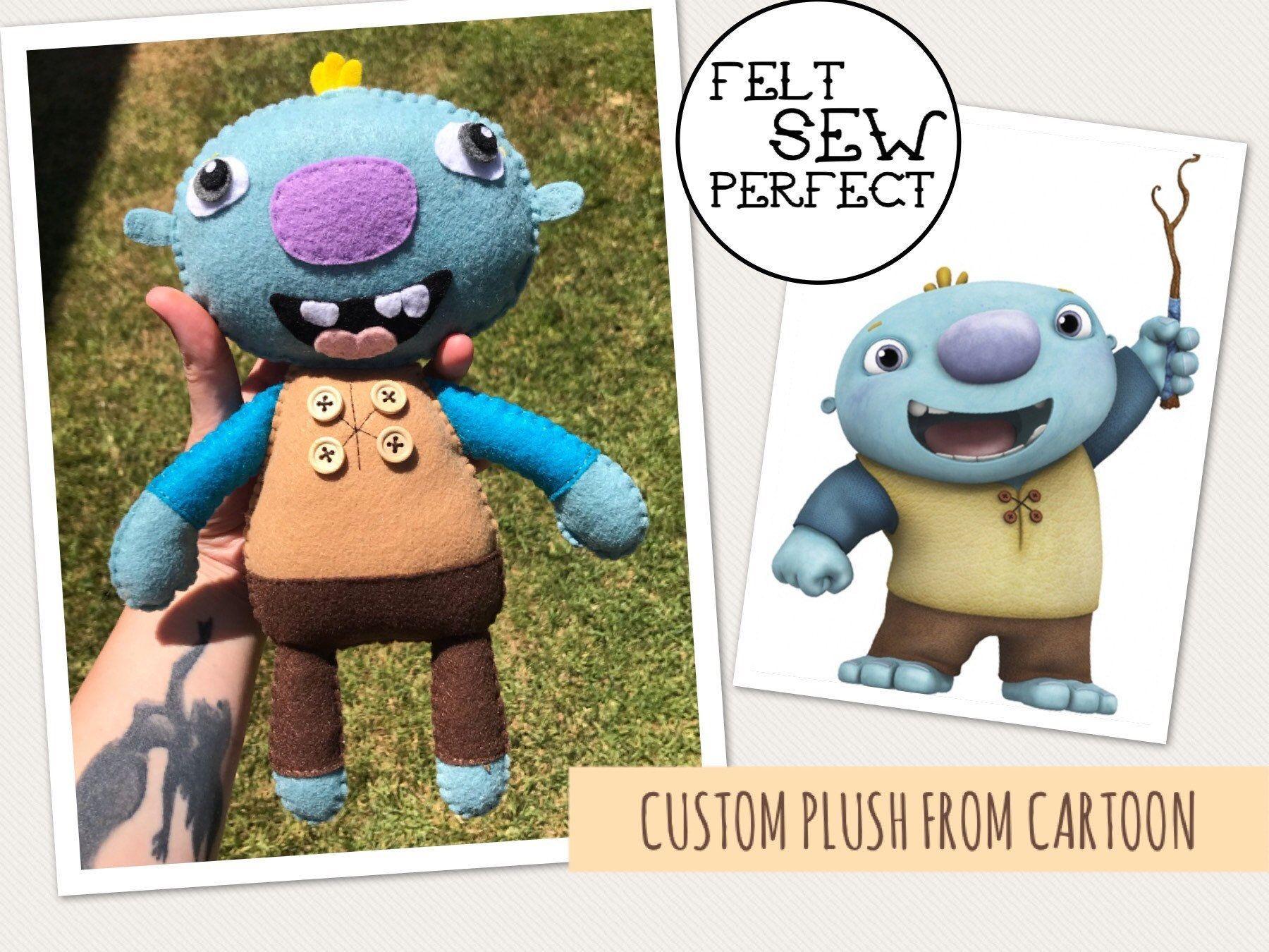 Custom Fandom Plushes!