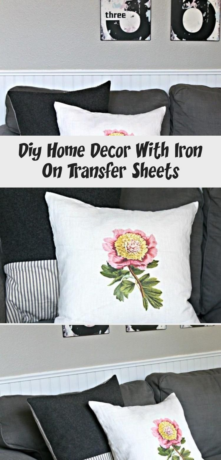 Create custom designs for pillows, dish towels, table runners by using iron- on transfer paper with your favorite images.  DIY Botanical Vintage Home Decor. Easy Crafts. DIY Decorating. Budget-Friendly Home Decor. Click the video for the full tutorial. #HomeDecorDIYVideosLivingRoom #HomeDecorDIYVideosIdeas #HomeDecorDIYVideosCheap #HomeDecorDIYVideosApartment #HomeDecorDIYVideosBedroom
