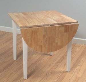 Folding Leaf Dining Table Images Table With Chair Storage - Round dining table with folding leaf