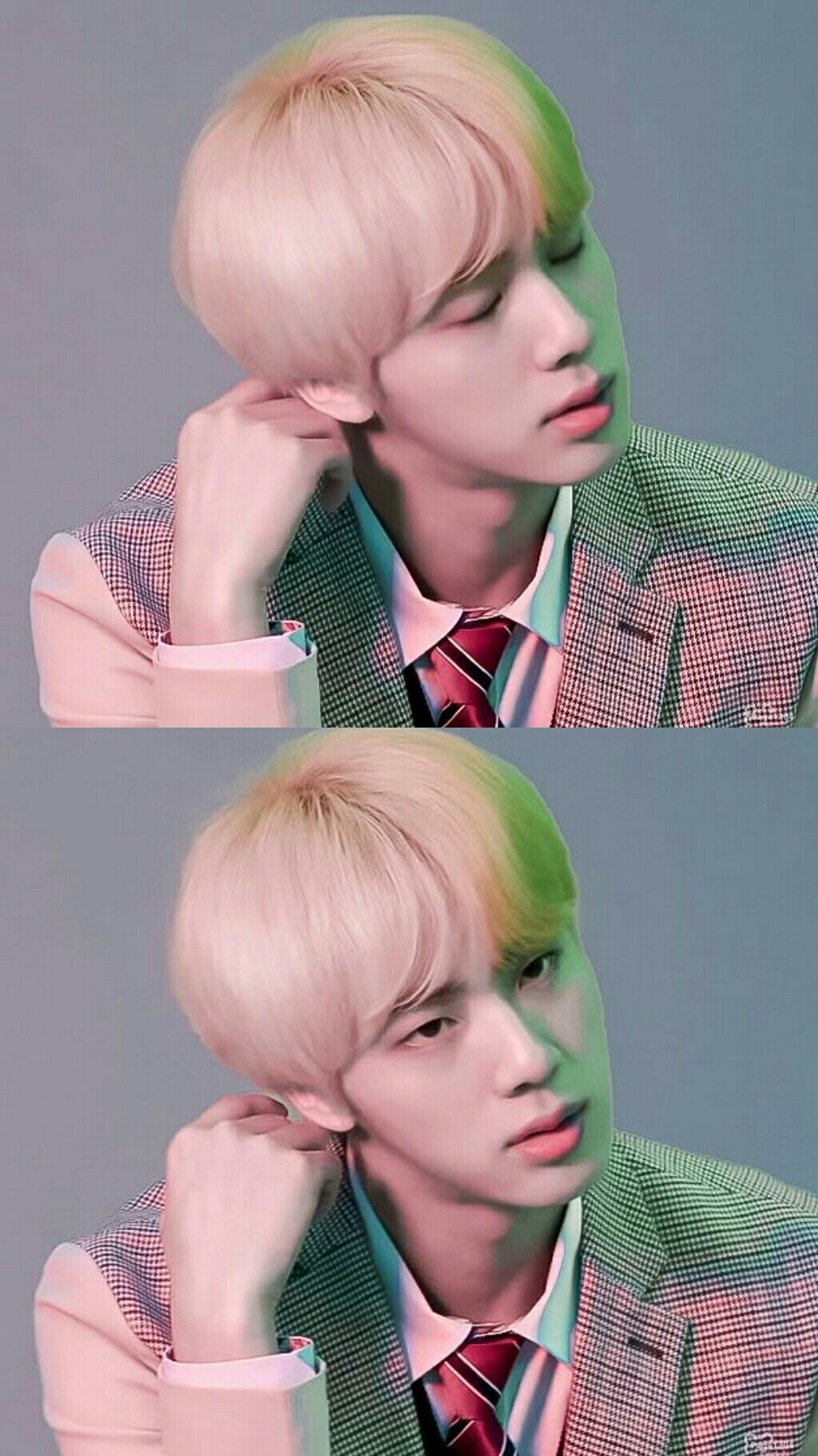 #JIN // [EPISODE] BTS (방탄소년단) LOVE YOURSELF 結 'Answer' Jacket shooting sketch