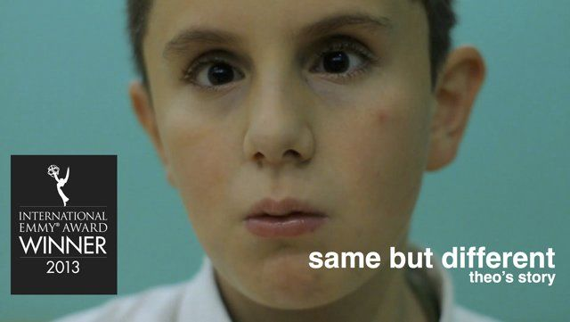 "'Same but different' channel on vimeo.  8 short films. International Emmy Award winning and BAFTA nominated collection of eight short documentary portraits, featuring children from across the UK with a range of differences, disabilities and medical conditions. The child-led films have been praised for their craft and non-patronising approach in which the children tell us ""what it's like to be me""."