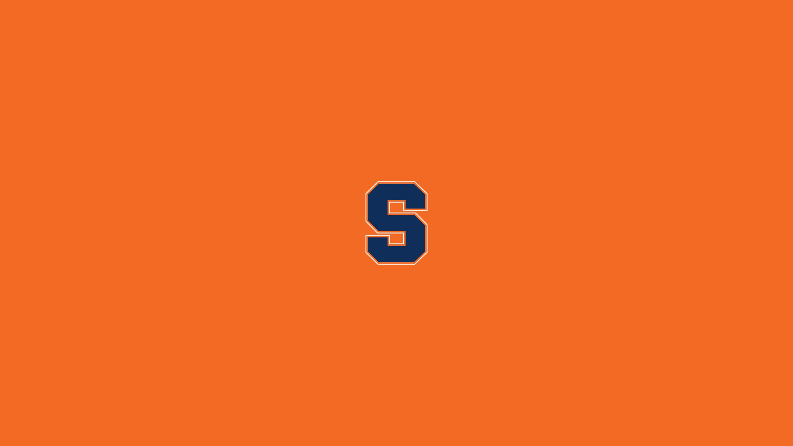 Minimal Syracuse Orange Wallpaper Wallpapers Wall Papers Tapestries