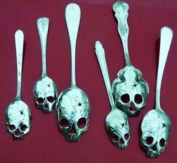 Absinthe spoons...
