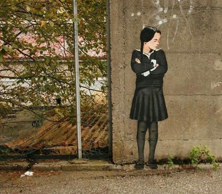 #streetart #girl