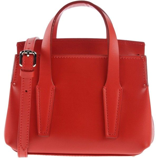 Artiminori Handbag 200 Liked On Polyvore Featuring Bags Handbags Red
