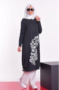 Tesettur Giyim Tunik Basortusu Modasi Moda Stilleri Tunik