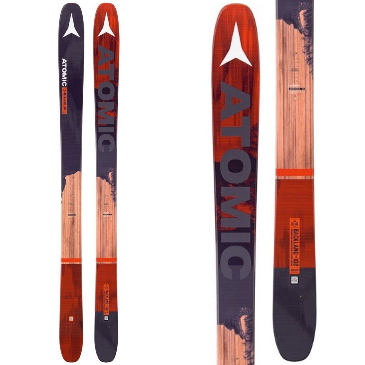 Skis 42814: Brand New! 2017 Atomic Backland 102 Skis W