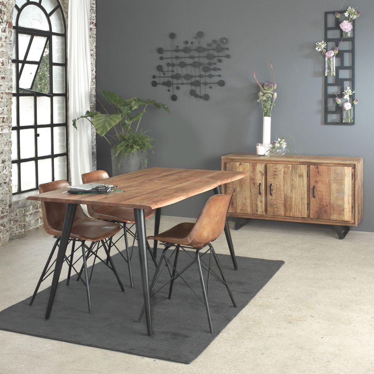 Comment Repeindre Des Fauteuils En Rotin chaise industrielle cuir, pieds tour eiffel s102 - taille