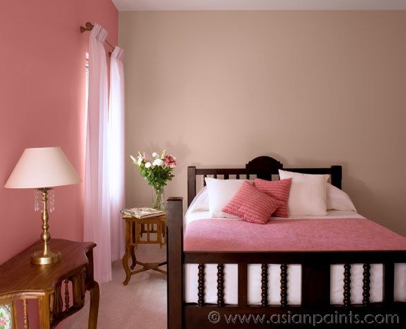 Bedroom Colour Combination Asian Paints soft meets strong in her palette for bedroom! wall colours
