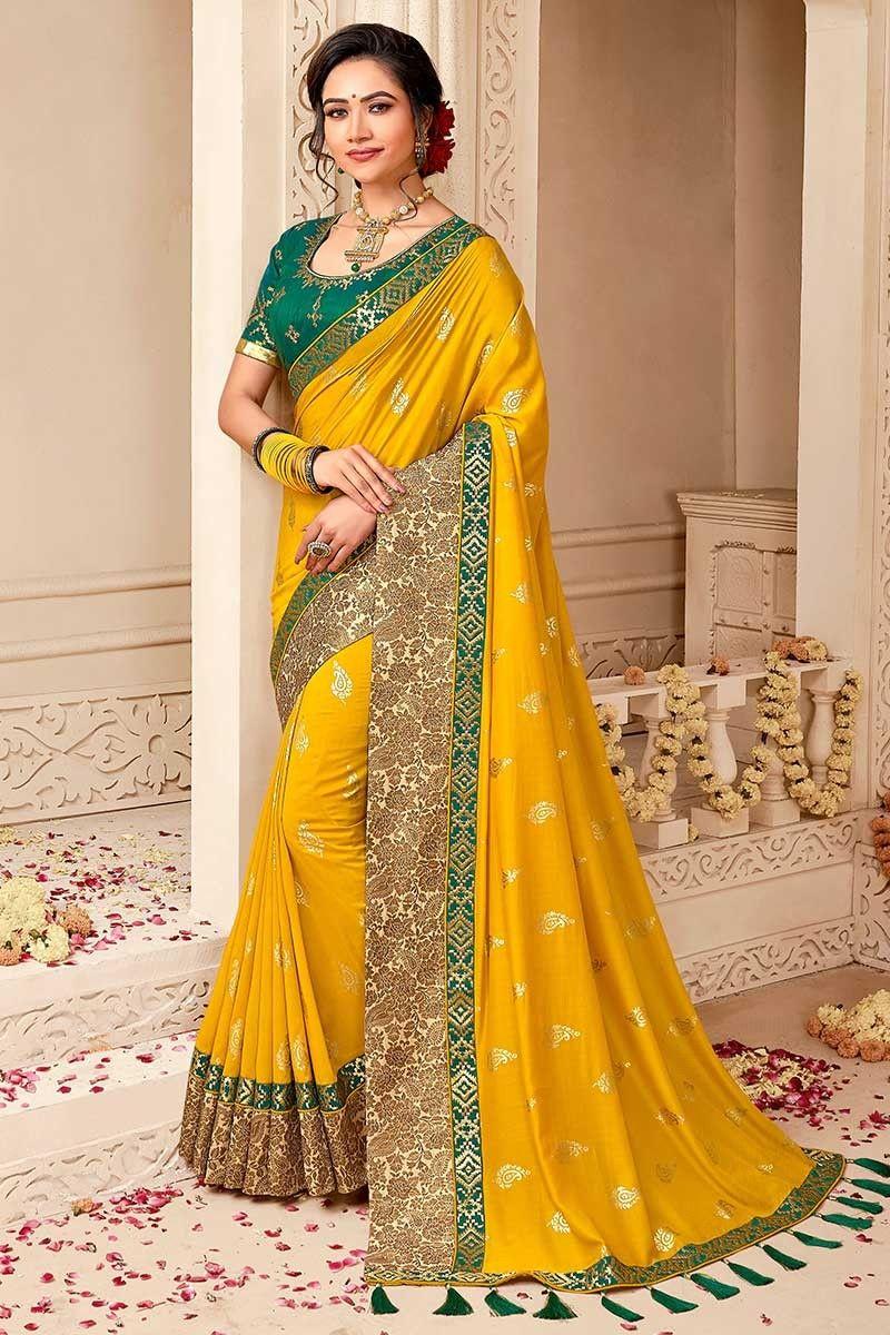 saree dress,Saree for women,Indian saree,wedding saree,designer saree,saris Multicolour Heavy pure satin silk saree and blouse for women