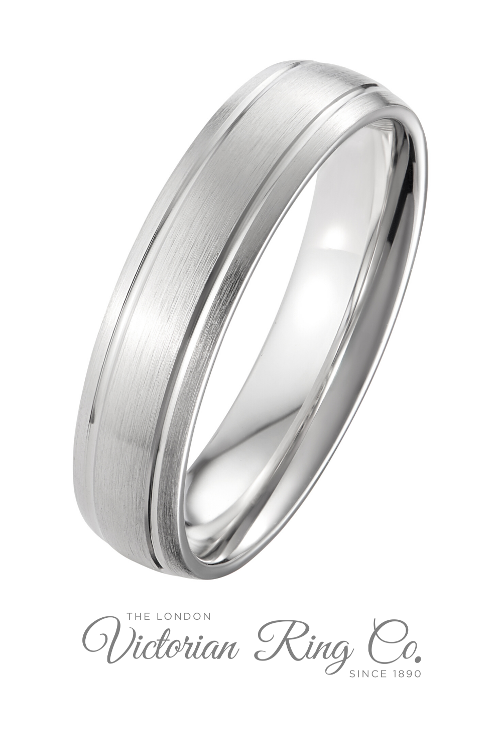 5mm Platinum Court Ring With Two Grooves Hatton Garden In 2020 Mens Wedding Rings Platinum Platinum Wedding Rings Unusual Wedding Rings