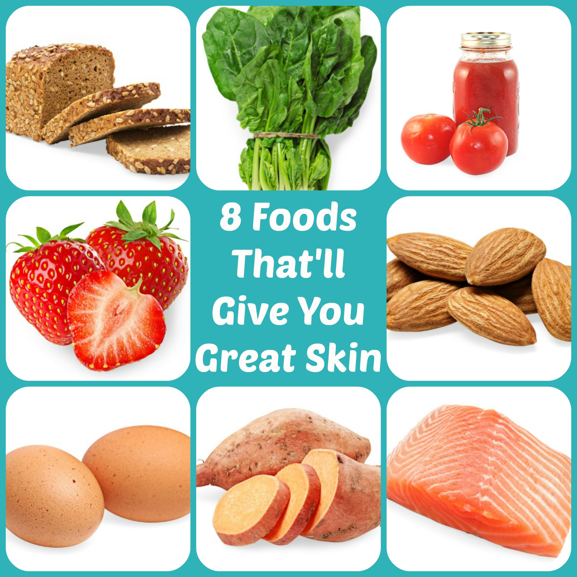12 Foods That Will Give You Gorgeous Skin  Foods for healthy skin