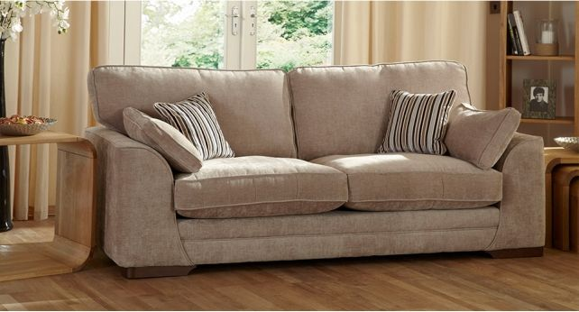 The Best Selling Portland Sofa Range Combines Modern Style And Luxurious Fabrics With