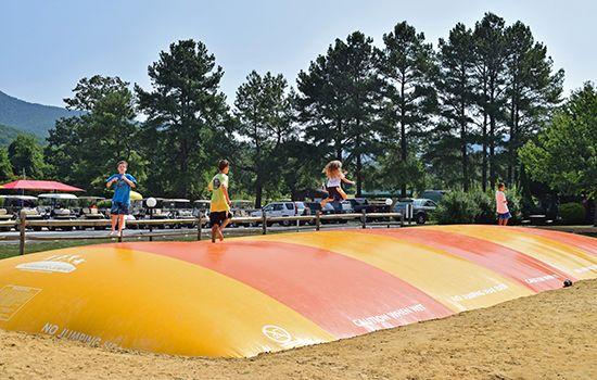 Jumping Pillows | Yogi Bear's Jellystone Park™ in Luray, VA