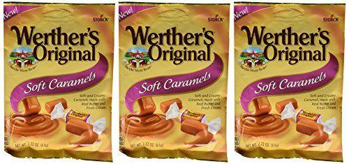 Werther S Original New Soft Caramels Caramel Caramel Candy