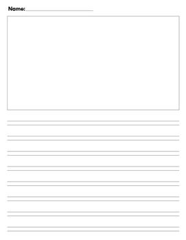 writing pages with lines