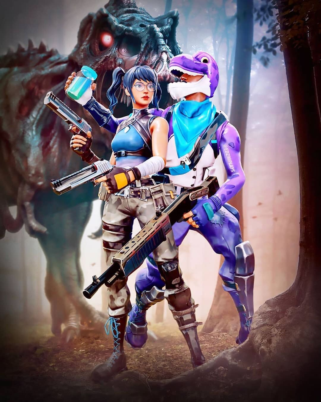 Senpai Reanimity On Instagram Dino Profile Picture Edzmplays Follow R In 2020 Epic Games Fortnite Gaming Wallpapers Epic Games