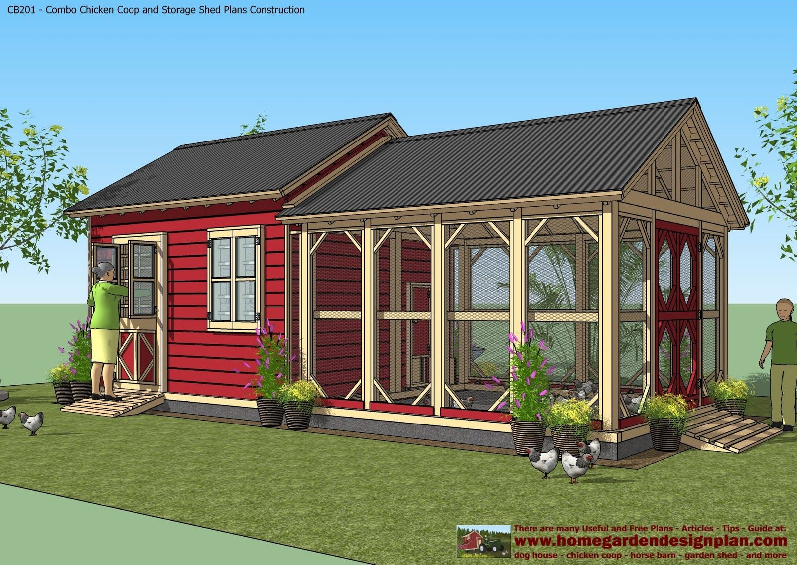 chicken coop plans more - Chicken Coop Design Ideas