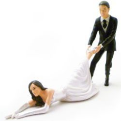 Check Out Reluctant Bride Wedding Cake Topper From Tesco Direct
