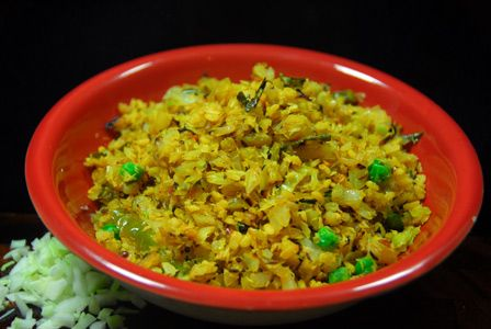 How to make cabbage moong dal curry