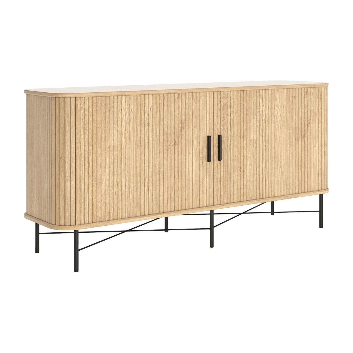 Life Interiors Ipanema Sideboard Oak Modern Furniture Buy