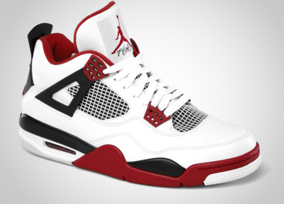 Air Jordan 4 Retro White/Varsity Red/Black