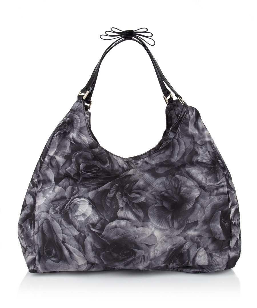 Valentino Floral shoulder bag in black, Designer Bags Sale, Valentino bags    accessories , 56dda57bab