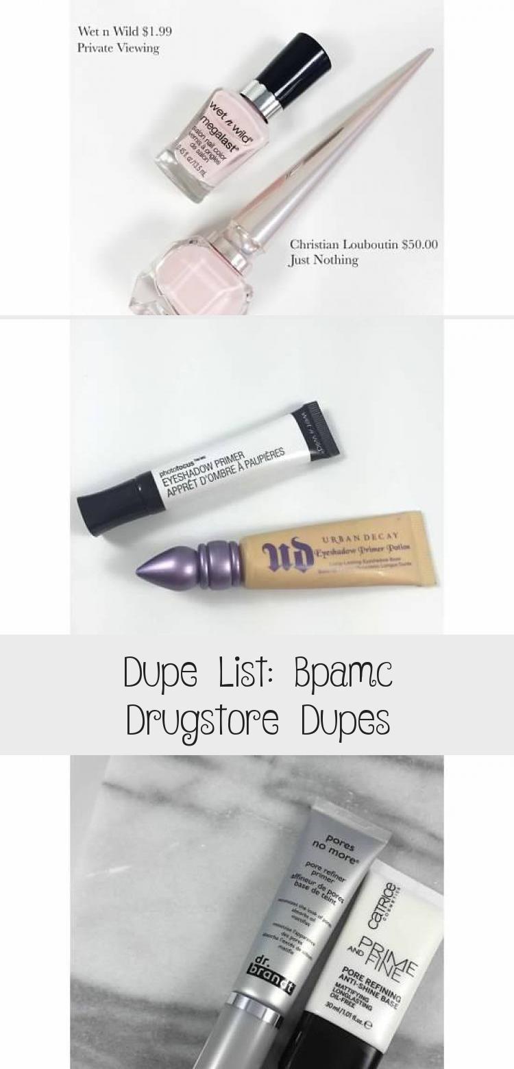 Photo of Dupe-Liste: Bpamc Drugstore Dupes – MAKEUP