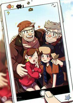 Una muy linda familia 😄😄