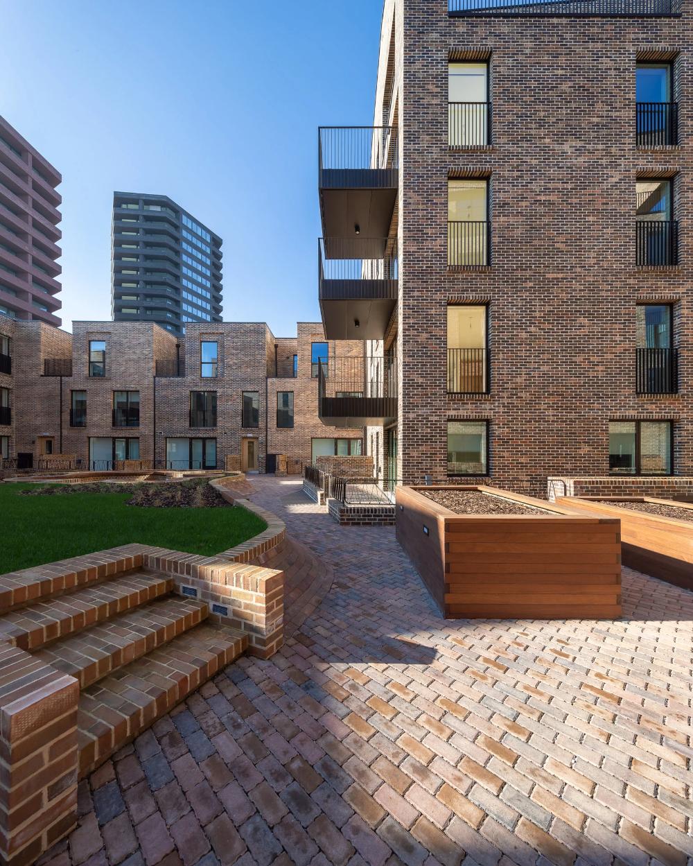 New York Has A Public Housing Problem Does London Have An Answer Published 2019 London Architecture Brick Architecture Brick Apartments