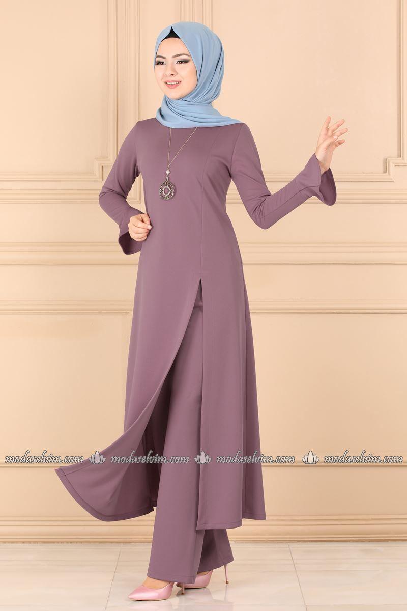 Tesettur Kombin Elbise Kombin Tesettur Kombin Istanbul Pakaian Wanita Model Pakaian Wanita Gaya Model Pakaian