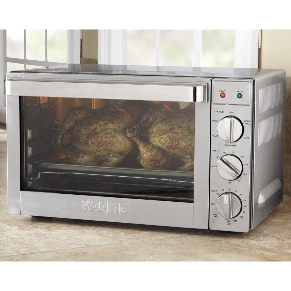 Waring Pro Co1600wr Convection Oven 1 5 Cubic Feet Convection