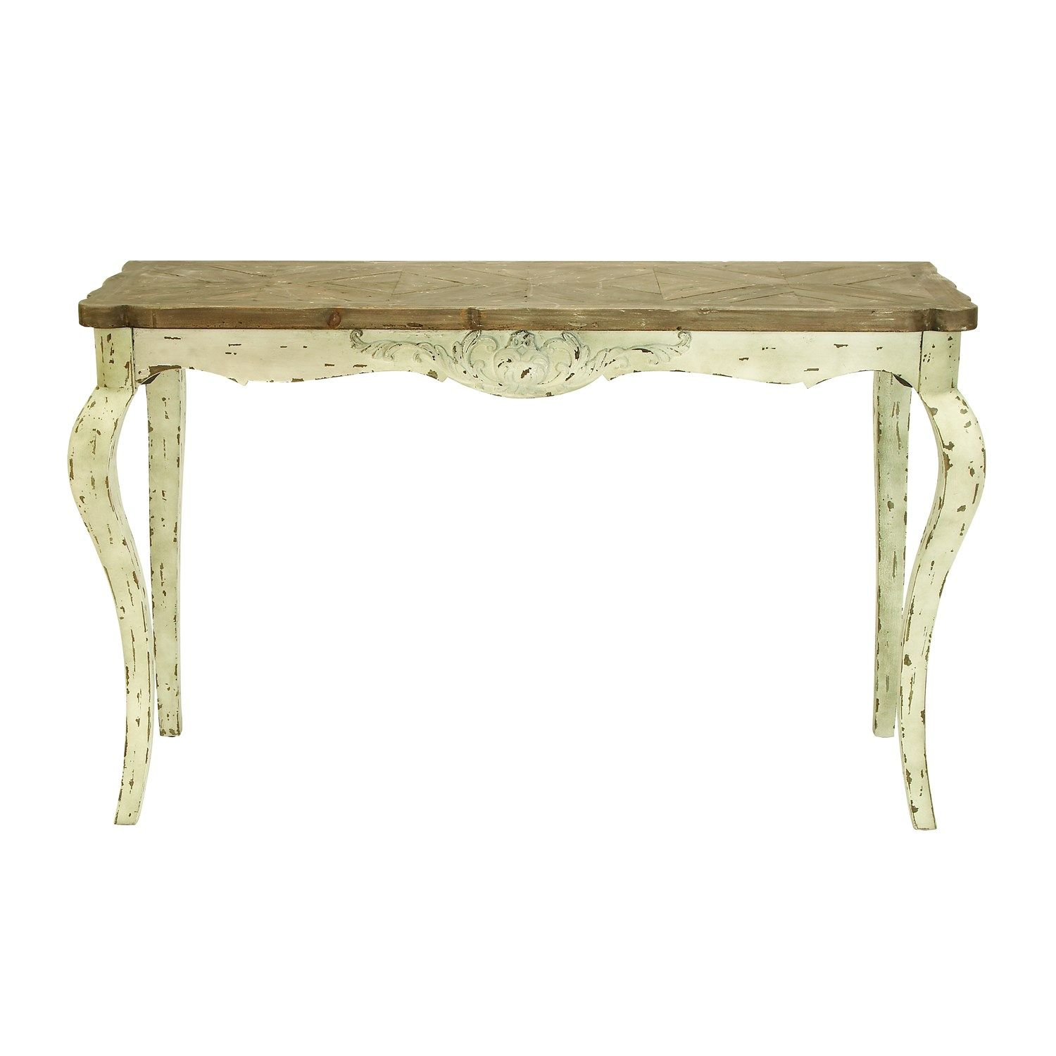 Exceptional Woodland Imports 51698 Affordable Furniture Wood Console