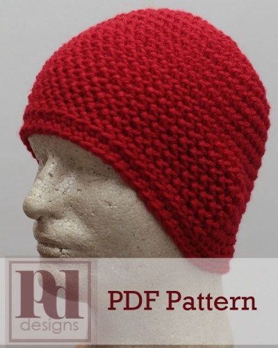 Mens Laborers Beanie Hat Crochet PDF Pattern by ...