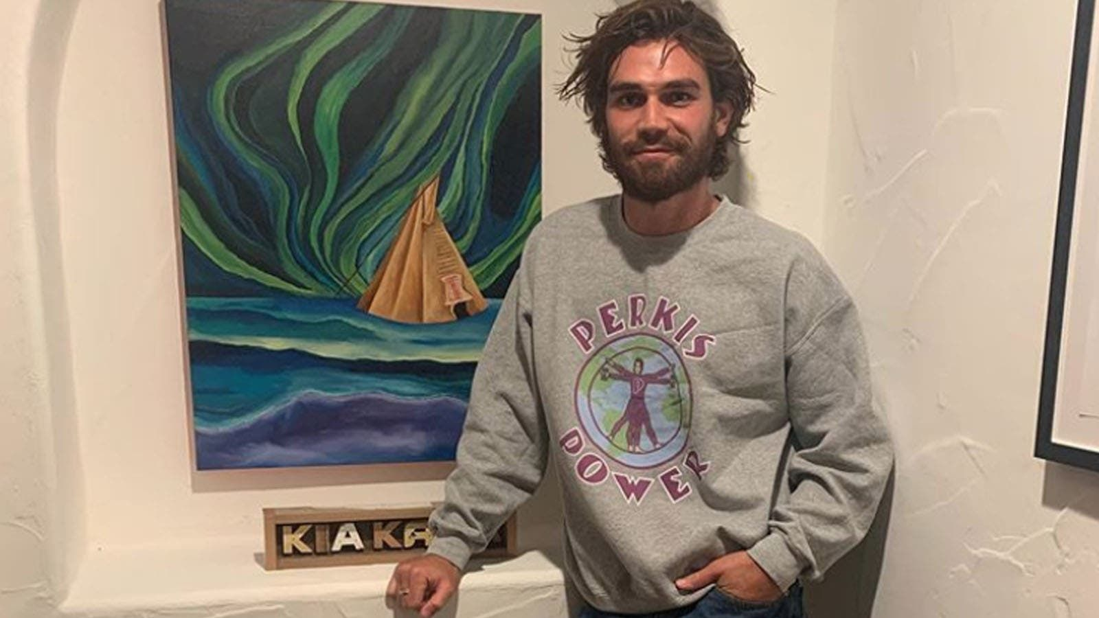 Riverdales KJ Apa recovers after getting a shard of