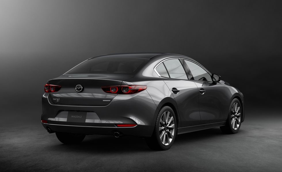 Every Photo Of The New 2019 Mazda 3 Hatchback And Sedan Mazda 3 Sedan Sedan Mazda 3