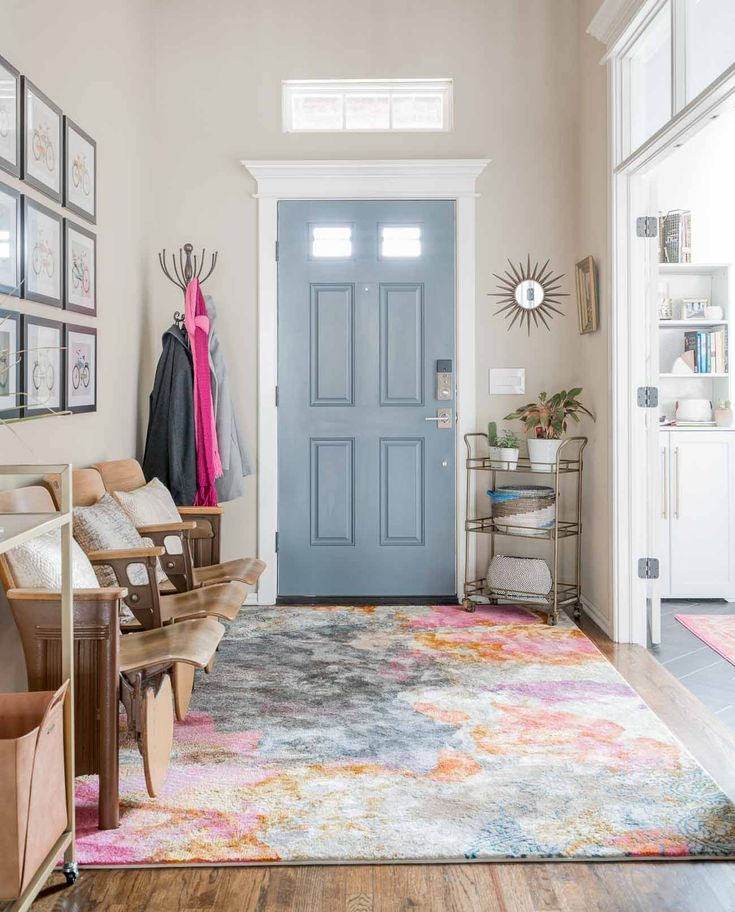 Switching rugs around your house can give multiple rooms a