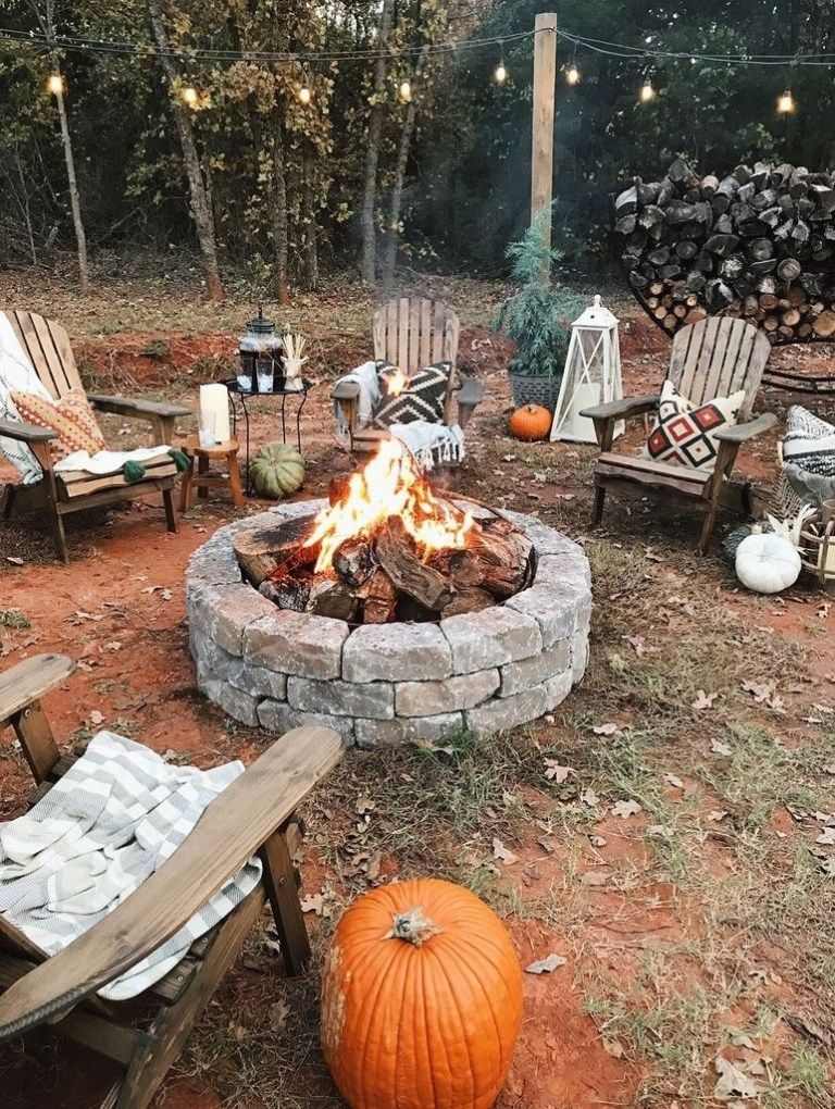 38 Affordable Fire Pit Design On A Budget » Engineering Basic #diyfirepit