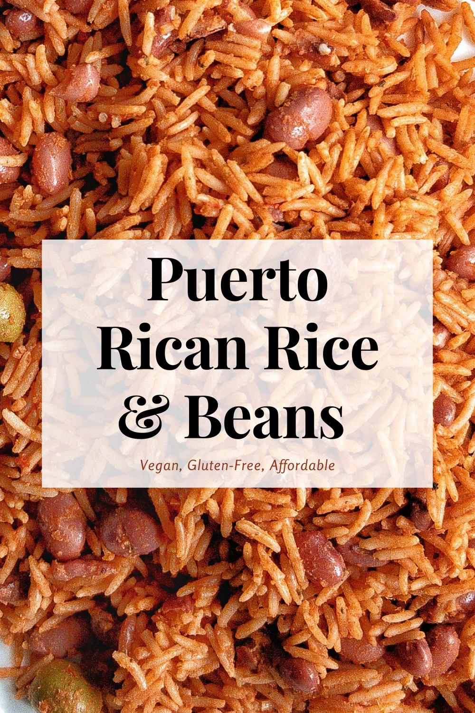 Arroz Con Habichuelas Rice With Beans Recipe Rice And Beans Recipe Rice With Beans Sofrito Recipe