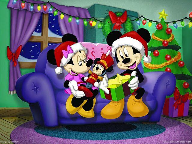 Dibujos De Navidad Disney Para Imprimir Los Personajes De Disney