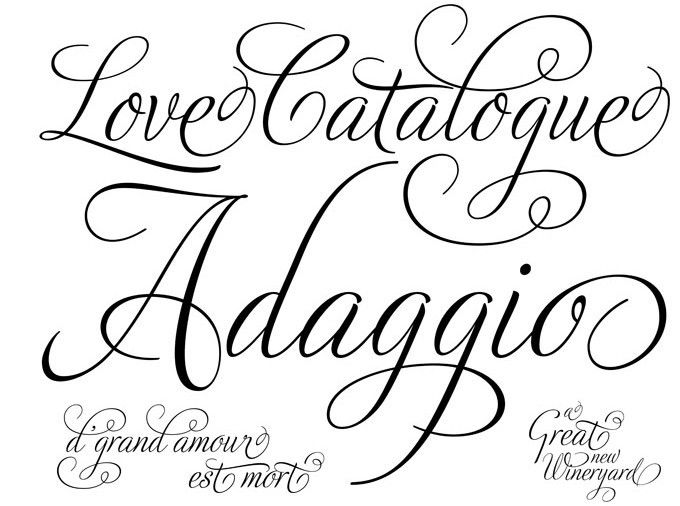 Tattoos Picture Designs: Tattoo Fonts Style | Lettering ...