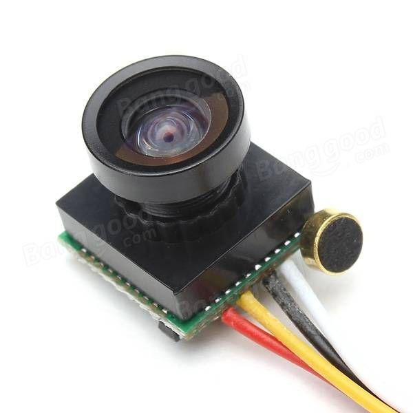 600TVL 1//4 1.8mm CMOS FPV 170 Degree Wide Angle Lens Camera PAL//NTSC 3.7-5V for