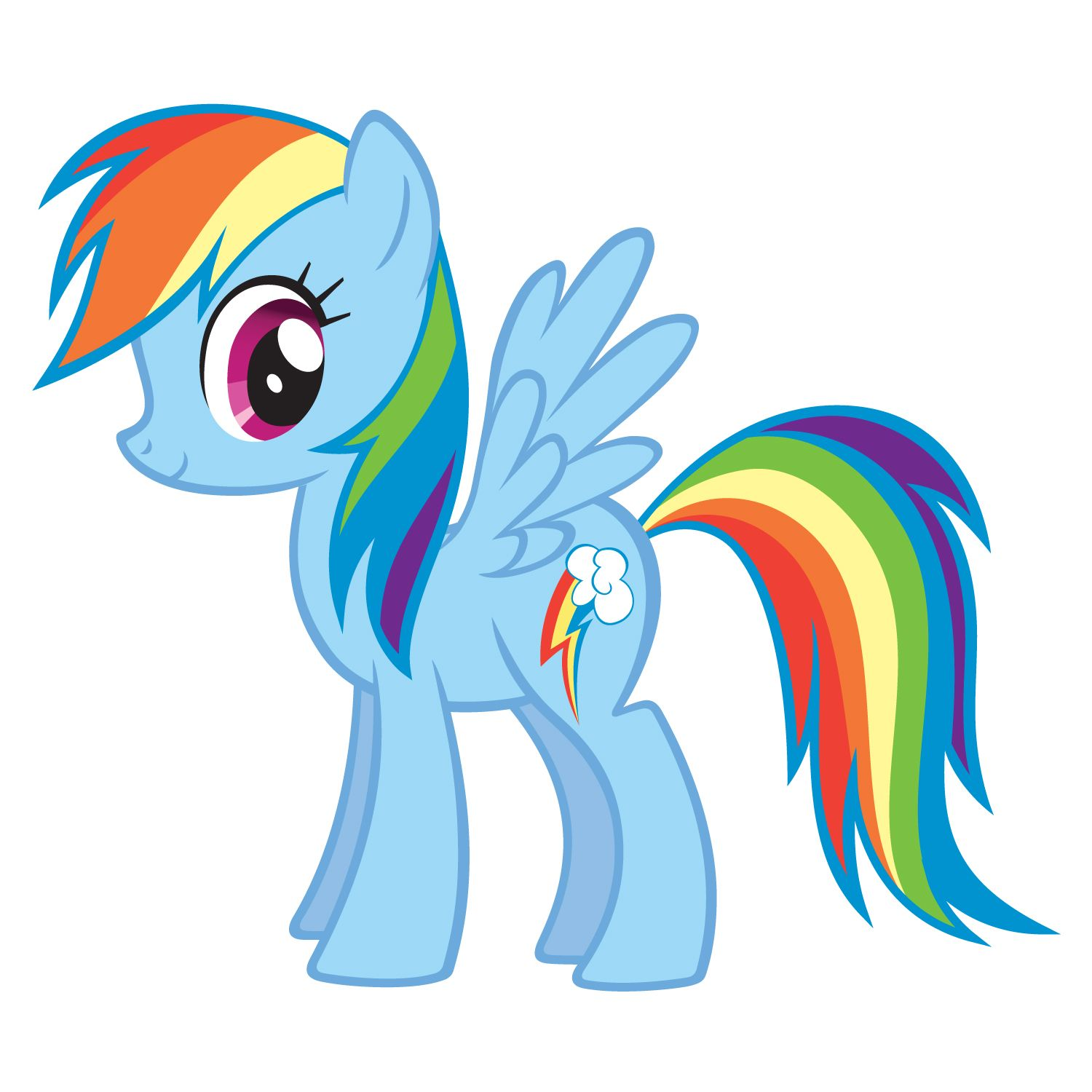 My little pony printable coloring pages rainbow dash - Shoutout My Little Pony Friendship Is Magic Television In One Episode Of Rainbow Dash