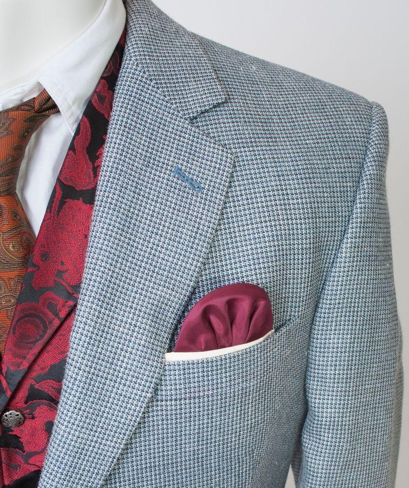 Jos a bank signature houndstooth blazer suit sport jacket